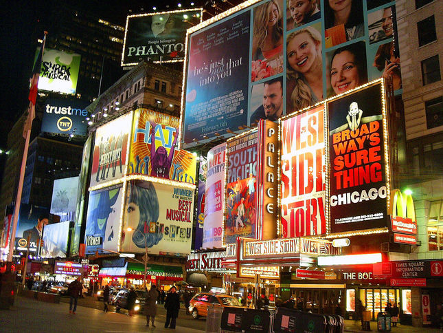 New York, les étoiles de Broadway