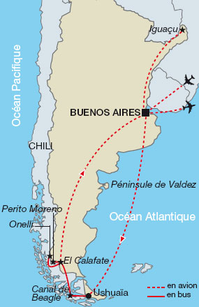 L'Argentine : la terre de feu